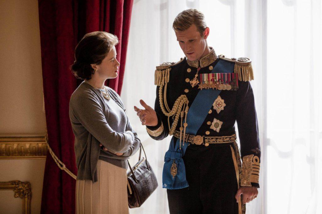Сцена из сериала Crown