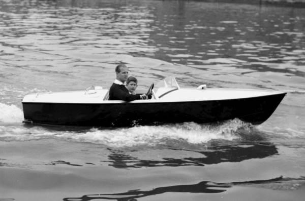 В лодке с сыном