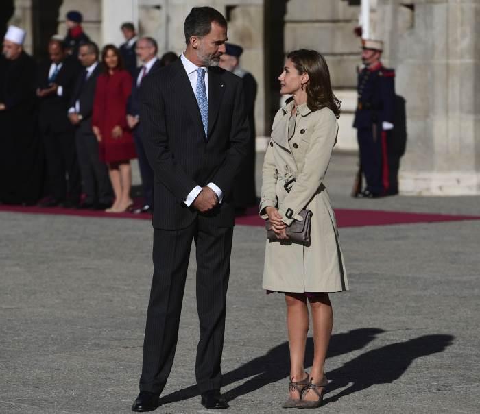 Королевская пара Испании в Израиле
