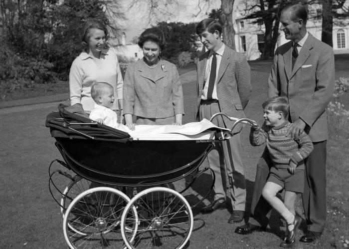 Королевская семья в сборе