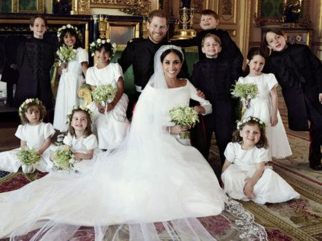Меган Маркл свадебное фото