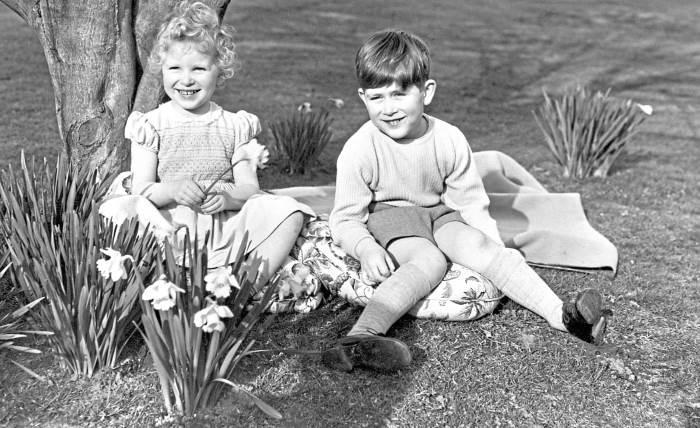 Принцесса Анна со старшим братом