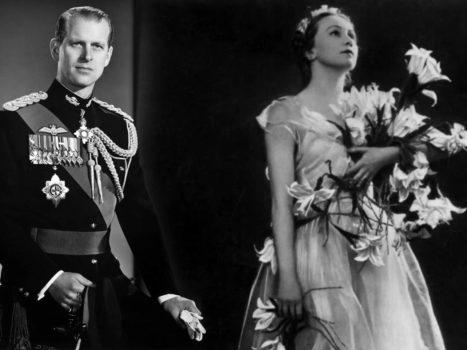 Принц Филипп и Галина Уланова