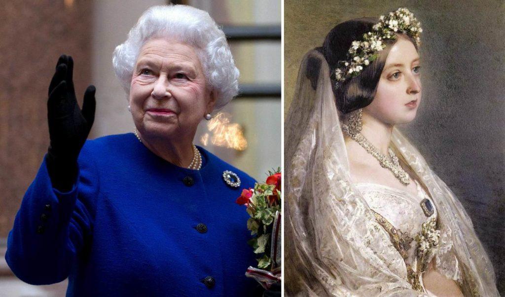 Сапфировая брошь королевы Виктории