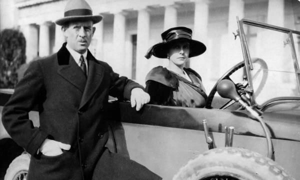 Алиса Баттенберг с мужем