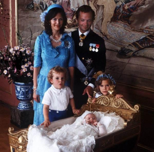 Крещение принцессы Мадлен
