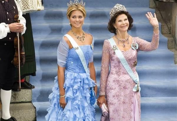 Принцесса Мадлен на свадьбе сестры