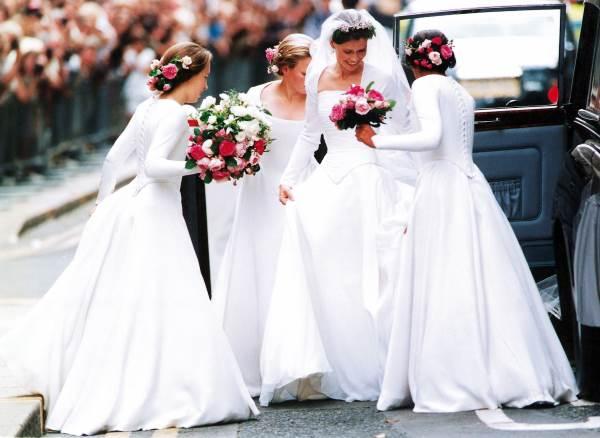 Свадебное платье племянницы королевы