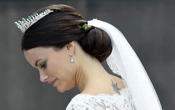 Татуировка шведской принцессы Софии