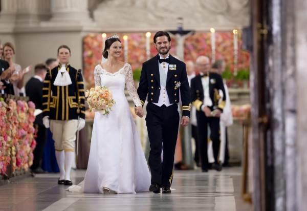 Свадьба шведского принца Карла Филиппа