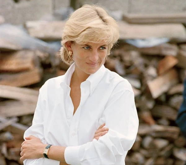 Леди Ди в 1997 году