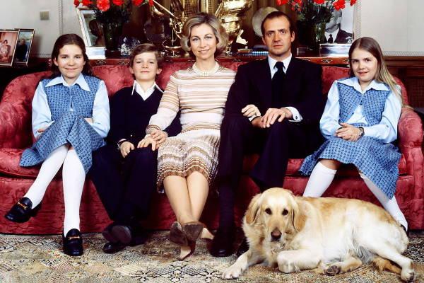 Испанская королевская семья в 1978 году