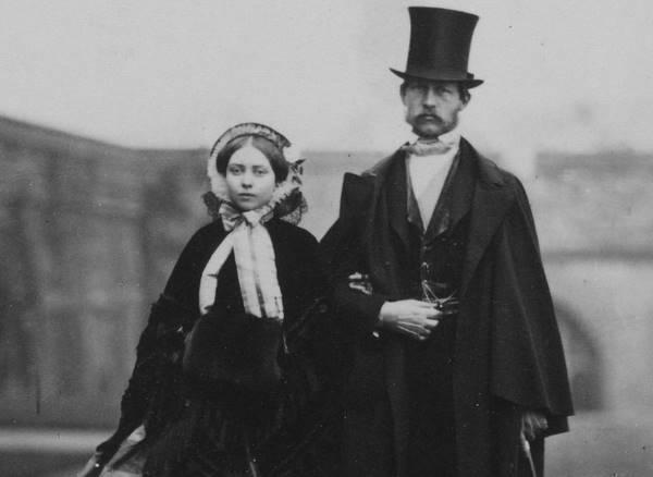Виктория и Фридрих Прусские