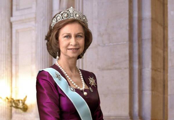 Официальное фото испанской королевы