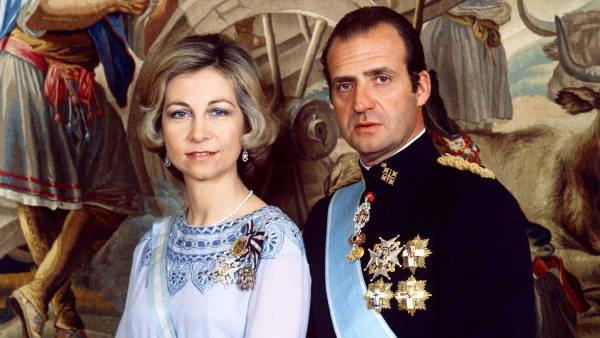 Официальное фото Софии и Хуана Карлоса