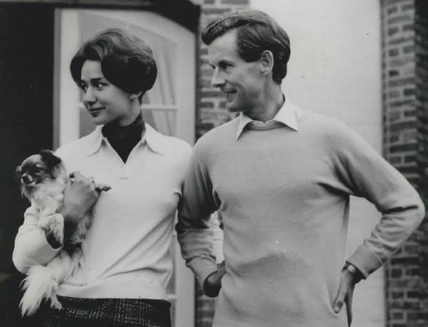 Питер Таунсенд с женой
