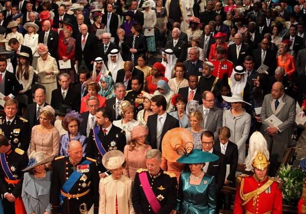 Приглашенные на свадьбу Кембриджей