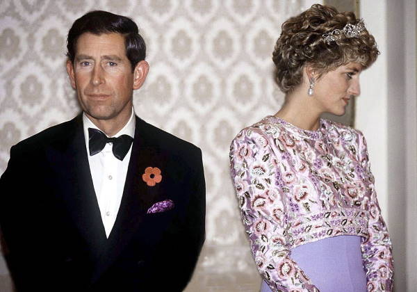 Чарльз и Диана перед разводом
