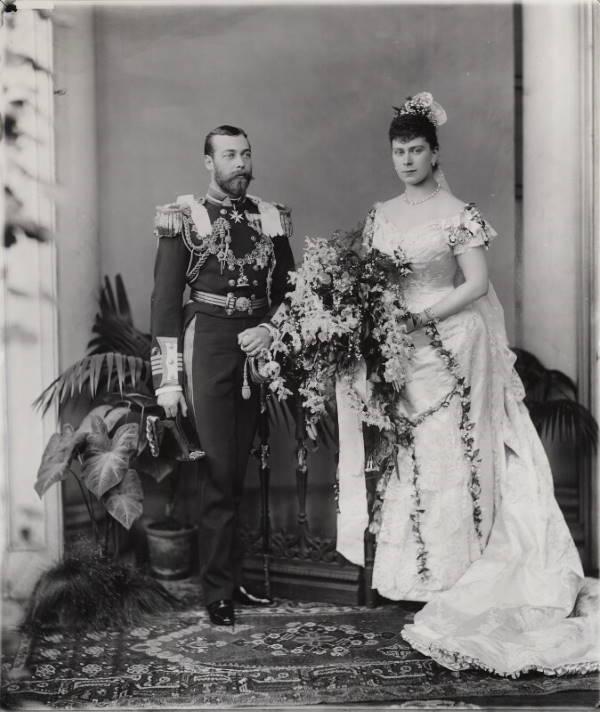 Свадебное платье Марии Текской