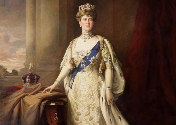 Портрет бабушки Елизаветы II