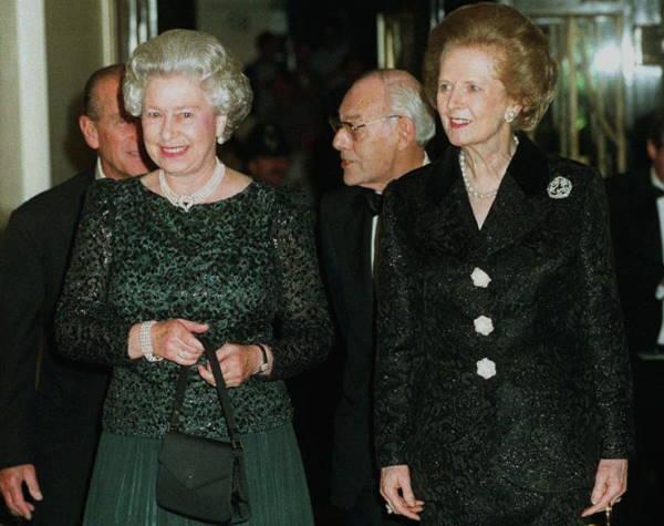 Королева и Маргарет Тэтчер