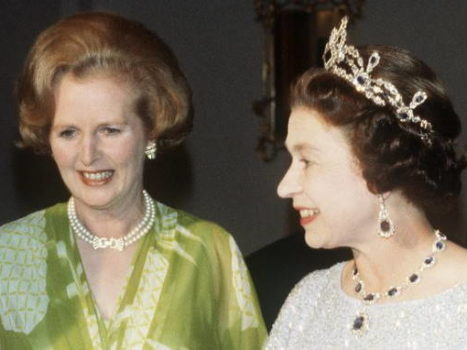 "Королева и ""железная леди"""