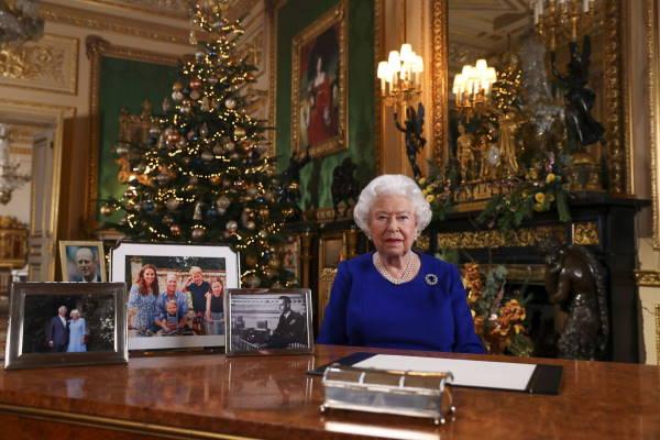 Рождественское обращение королевы 2019 года