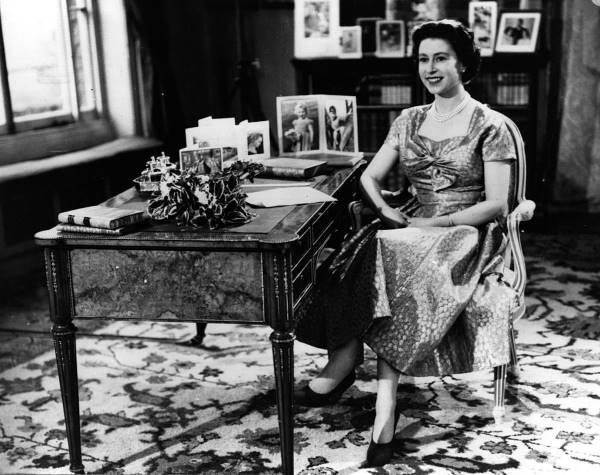 Рождественская речь королевы в 1957 году