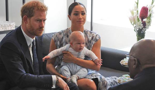 Принц Гарри, Меган Маркл и Арчи в Кейптауне