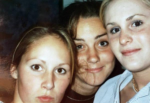 Кейт Миддлтон с подругами
