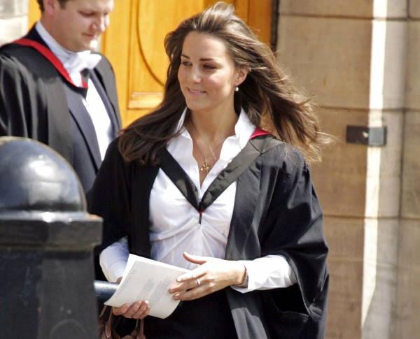 Кейт Миддлтон на выпускном