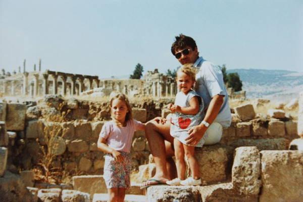 Кэтрин в Иордании