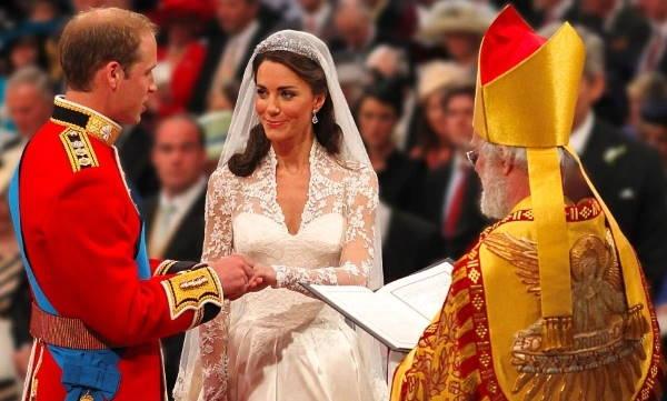 Свадебная церемония принца Уильяма и Кейт Миддлтон