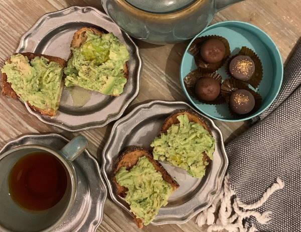 Тосты с авокадо у Меган Маркл