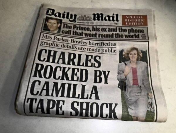 Телефонный разговор принца Чарльза и Камиллы