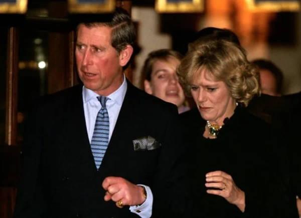 Первый публичный выход принца Уэльского и его будущей второй жены