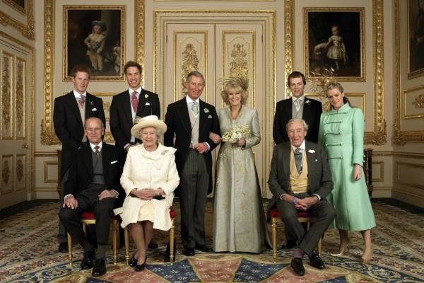 Свадьба принца Чарльза и Камиллы