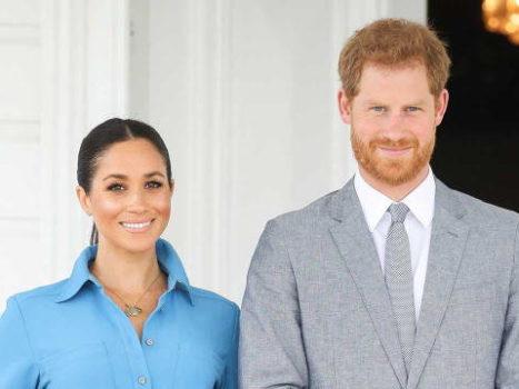 Меган Маркл и принц Гарри дважды родители