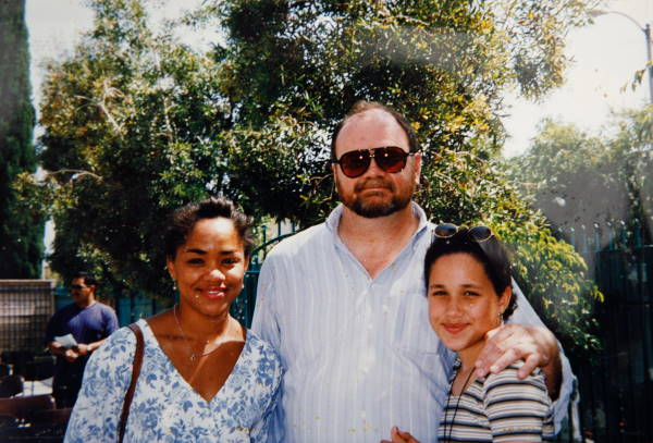 Меган Маркл с родителями